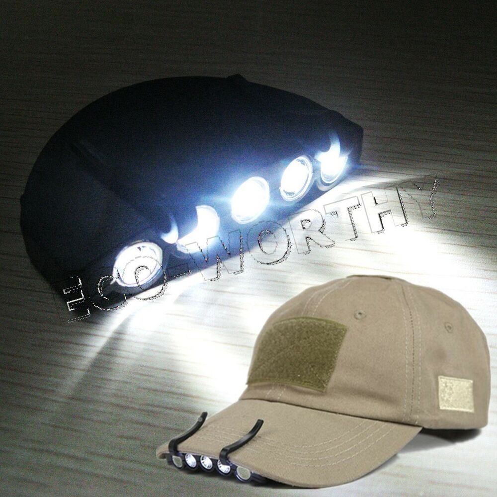 5 led high power headlight hat lamp cap light for bicycle. Black Bedroom Furniture Sets. Home Design Ideas
