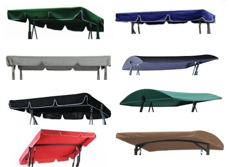 Replacement Canopy For Garden Swing Various Sizes