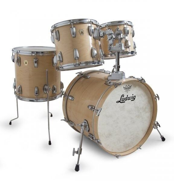 ludwig classic maple drum kit shell pack natural maple used rkldk181114 ebay. Black Bedroom Furniture Sets. Home Design Ideas