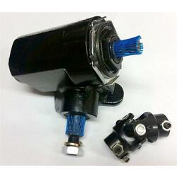 Kyпить BLACK Ford T-Bucket Style Reversed Corvair Steering Box 20:1 Ratio w/ U Joint на еВаy.соm