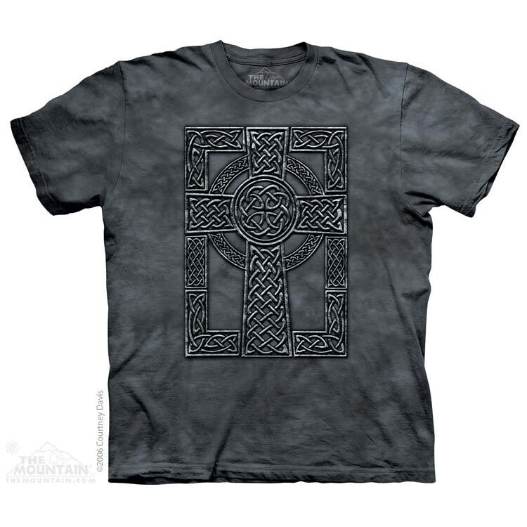 The mountain celtic cross celts iron age medieval for Celtic design t shirts uk
