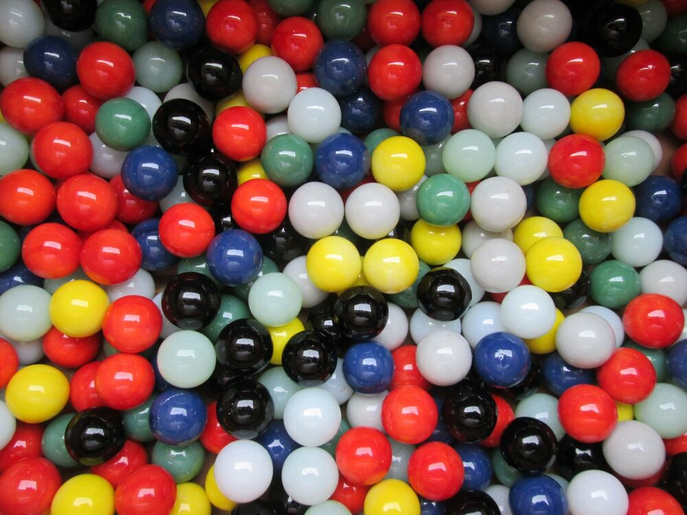 Bulk Colored Marbles : Marbles bulk lot pounds quot solid colored marble king
