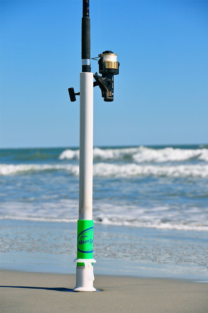Mikes spikes hammerhead xl surf rod anchor holds for Fishing rod ultra sun