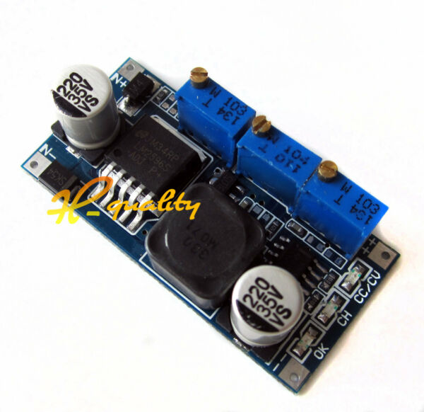 DC-DC LM2596 Step-down Adjustable CC/CV Power Supply Module LED driver