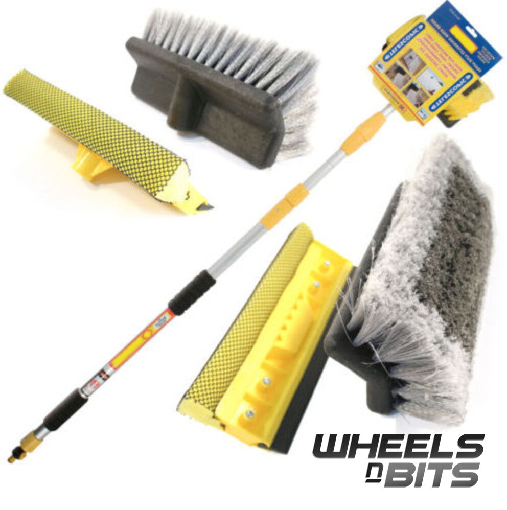 3m 9 8ft Heavy Duty Deluxe Extending Car Wash Brush