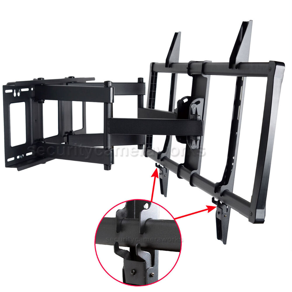articulating tilt swivel tv wall mount led lcd plasma 55 60 65 70 75 80 90 bo7 ebay. Black Bedroom Furniture Sets. Home Design Ideas