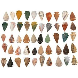 Kyпить *** 50 PC Lot Flint Arrowhead OH Collection Project Spear Points Knife Blade *** на еВаy.соm