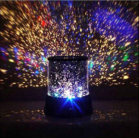 Led Romantic Starry Night Sky Projector Lamp Kids Gift