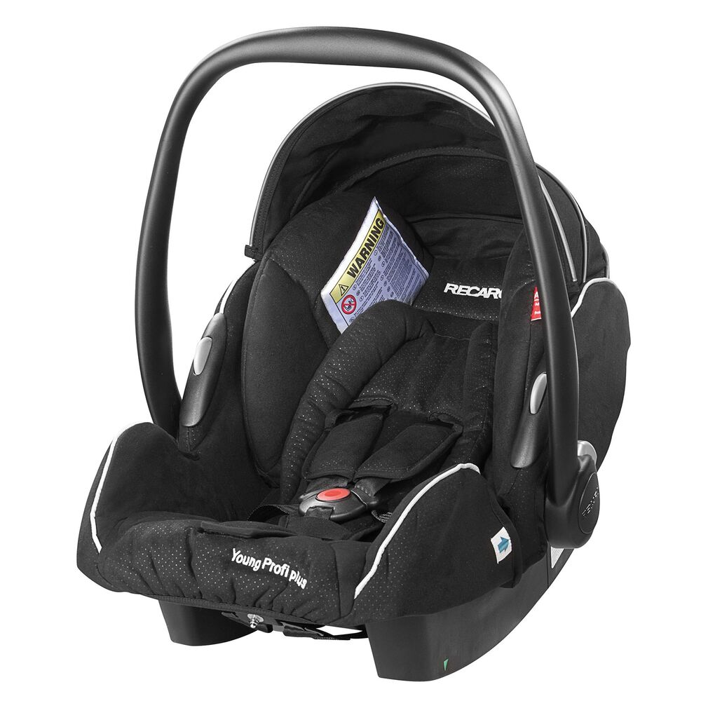 recaro young profi plus group 0 isofix baby car seat carrier black ebay. Black Bedroom Furniture Sets. Home Design Ideas