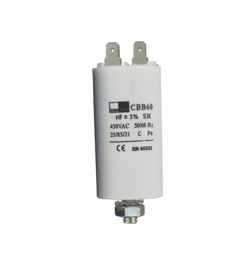 For Zanussi Aeg Electrolux Capacitor 8uf For Tumble Dryer