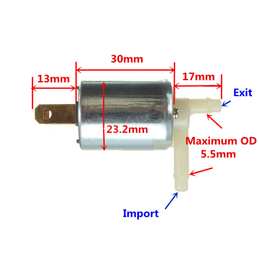 Dc v mini pneumatic solenoid valve normally closed for