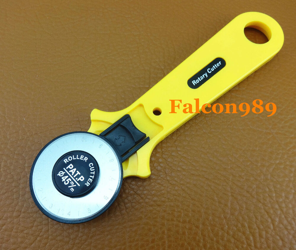 45 mm rotary cutter cutting knife for vinyl paper fabric for Paper cutter for crafts