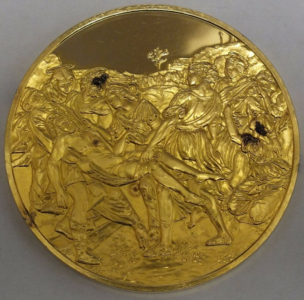 Masterpieces Of Raphael Gold Plated Sterling Silver