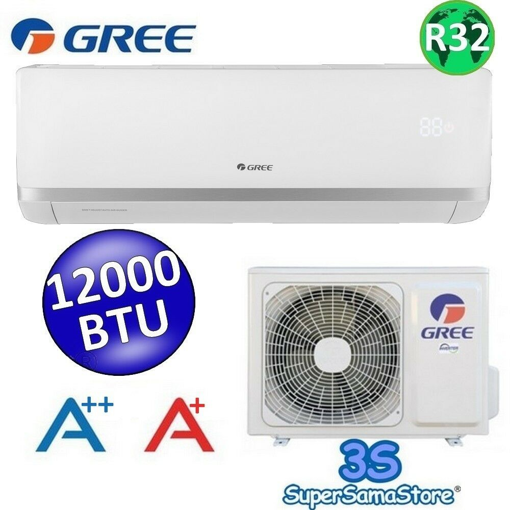 3s split klimaanlage klimager t gree argo bora inverter 12000 btu 3 5 kw a r32 ebay. Black Bedroom Furniture Sets. Home Design Ideas
