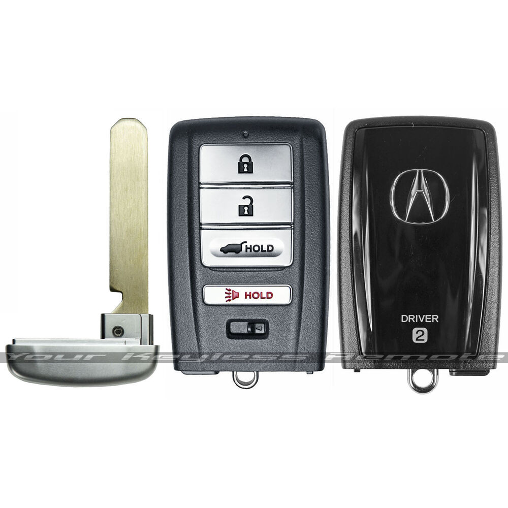 New Acura Mdx Smart Key Remote Prox Keyless Fob