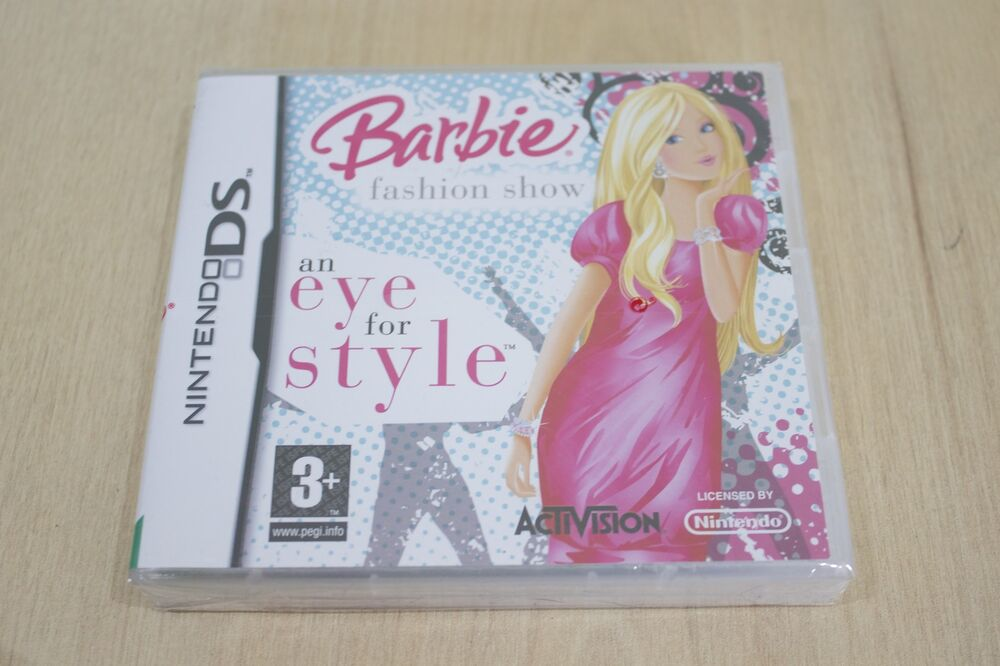 Barbie Fashion Show An Eye For Style Nintendo 3ds 2ds Ds New Factory Sealed Ebay