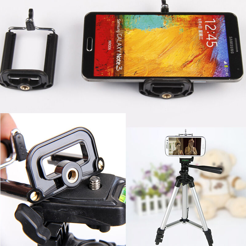 iphone camera stand reliable cell phone stand clip tripod holder mount 8863