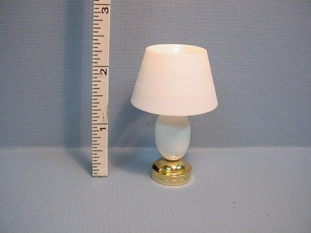 miniature battery operated kensington table lamp t18tb ebay. Black Bedroom Furniture Sets. Home Design Ideas