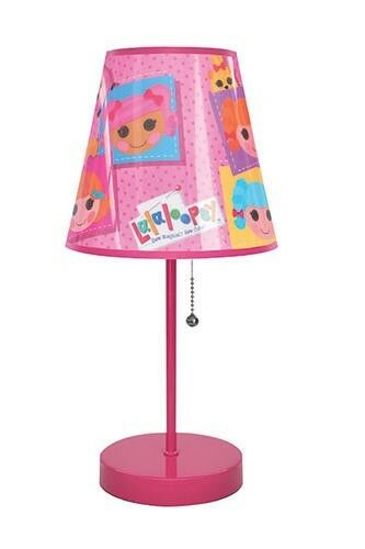 new 16 pink lalaloopsy table lamp girls kids bedroom decor ebay