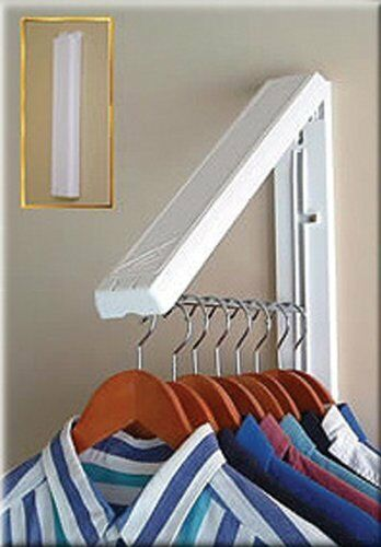 Wall Mount Collapsible Hanger Drying Holder Drainer