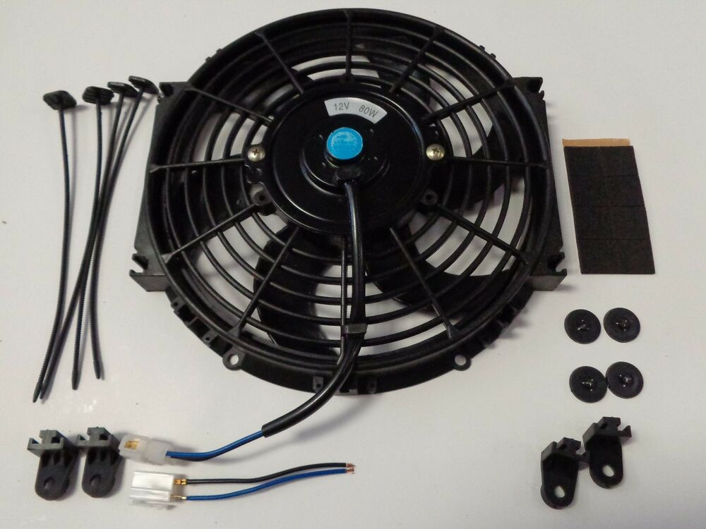 Electric Cooling Fans : Quot heavy duty radiator electric fan cfm brand new