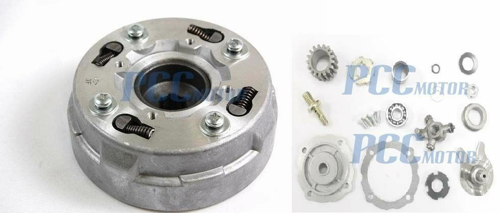 Assembly Quad Clutch Semi Automatic Only 110cc 125cc Chinese Atv 17 Teeth P Ct16