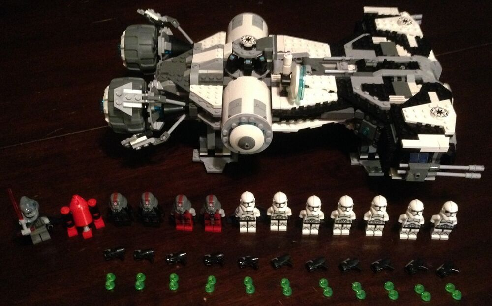 Custom Lego Star Wars Jedi turned Imperial Defender class ...