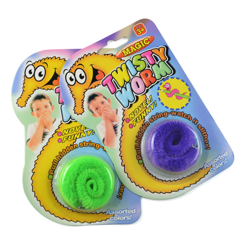 Toys For Cards : Creative magic worm magician trick twisty plush wiggle