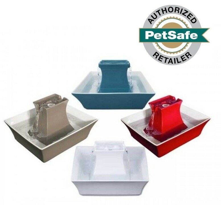 Petsafe Drinkwell Ceramic Pagoda Pet Cat Fountain 70 Oz 4