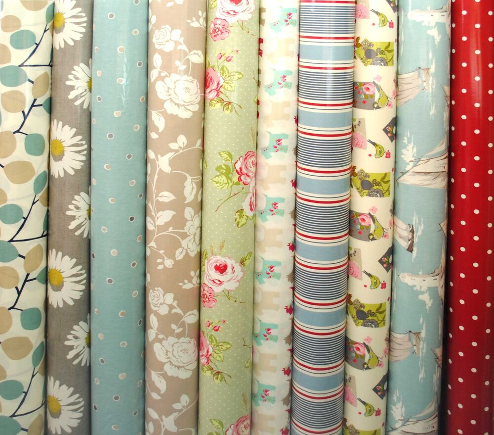 Clarke Amp Clarke Pvc Fabric Wipe Clean Tablecloth Oilcloth