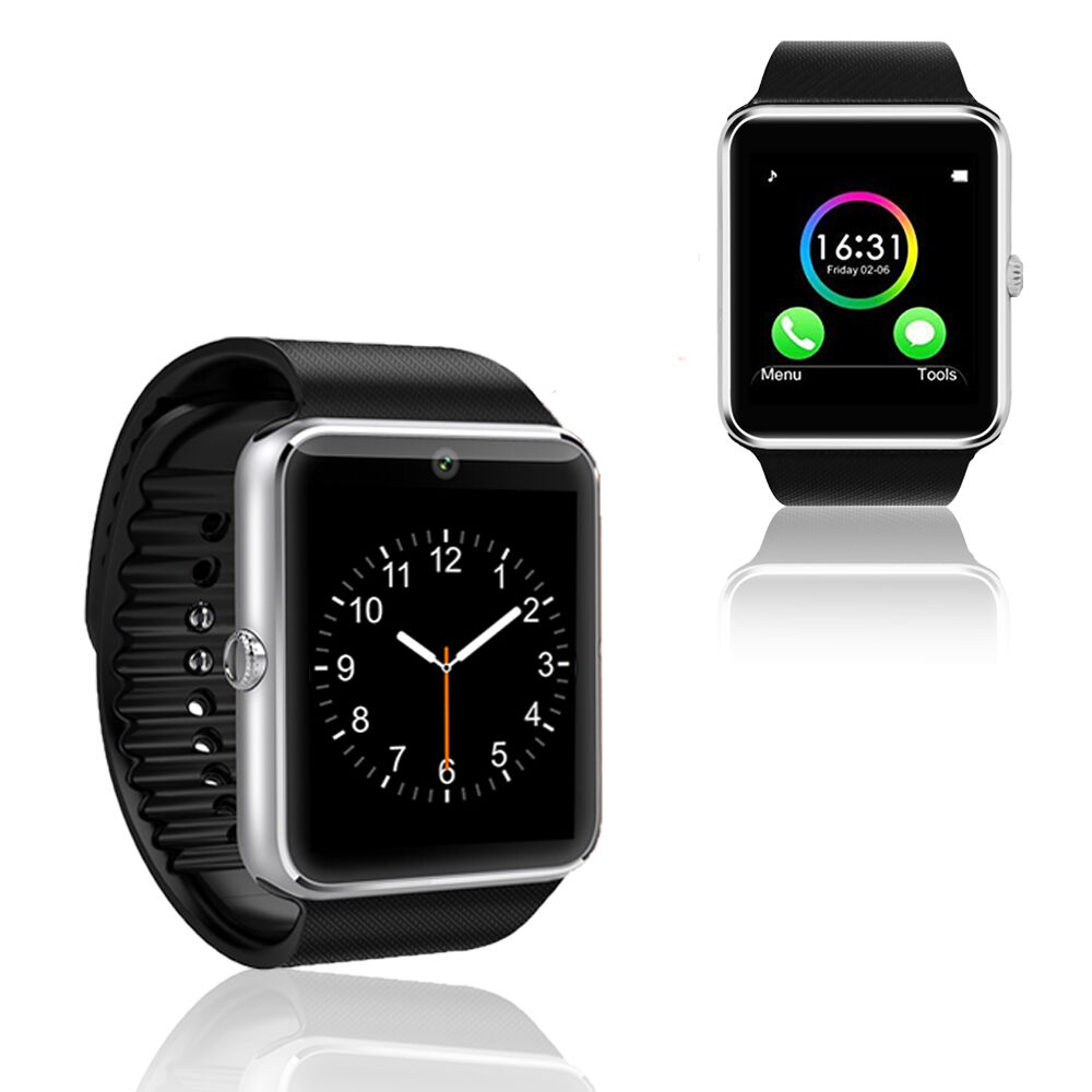 new gsm bluetooth watch cell phone touch screen mp3 spy camera at t t mobile ebay. Black Bedroom Furniture Sets. Home Design Ideas