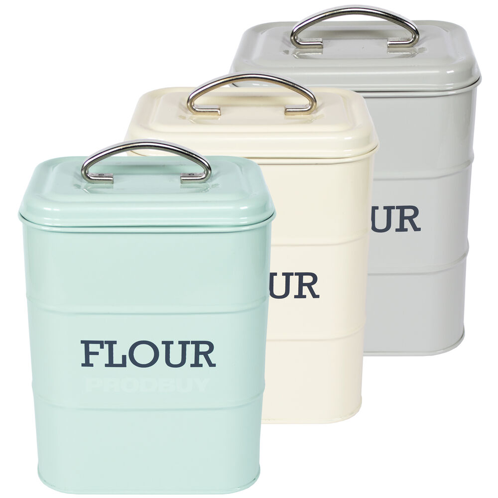 vintage kitchen storage jars flour tin living nostalgia vintage enamel food storage 6833
