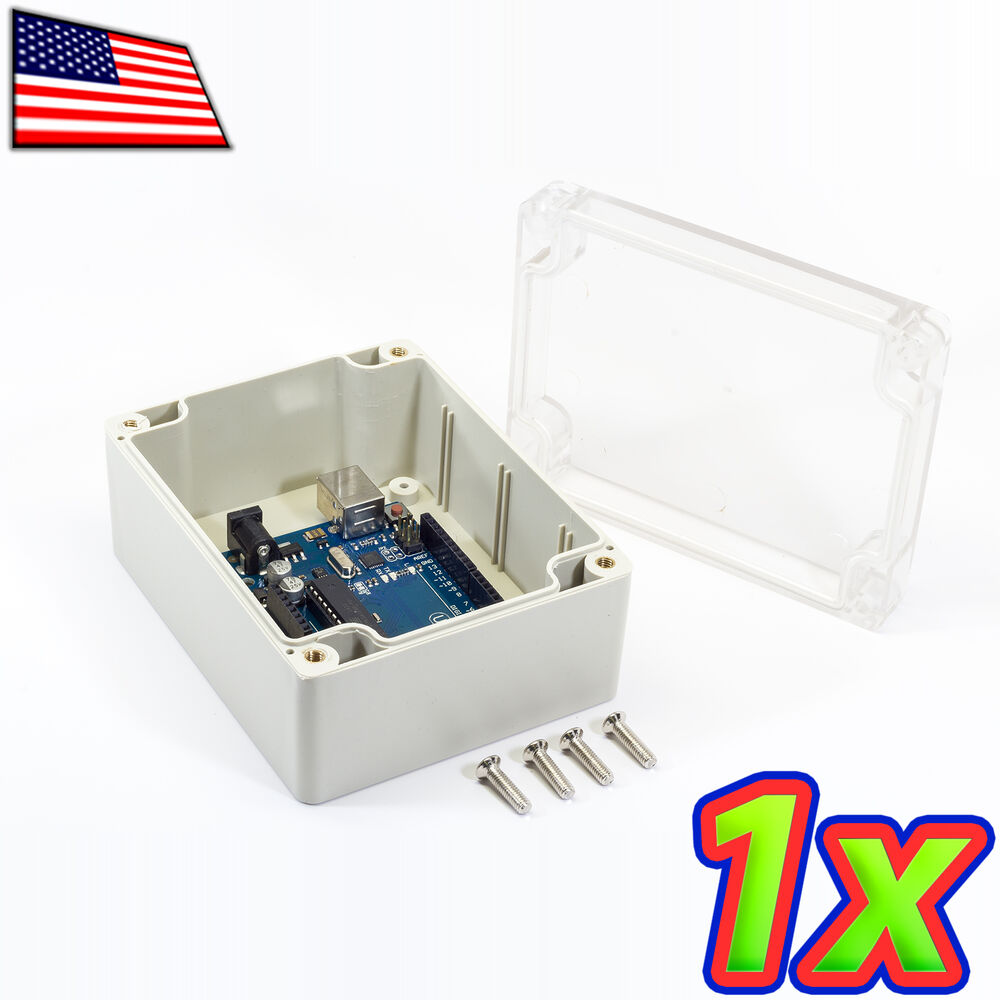 Ip65 Abs Plastic Box Enclosure Clear Project Case
