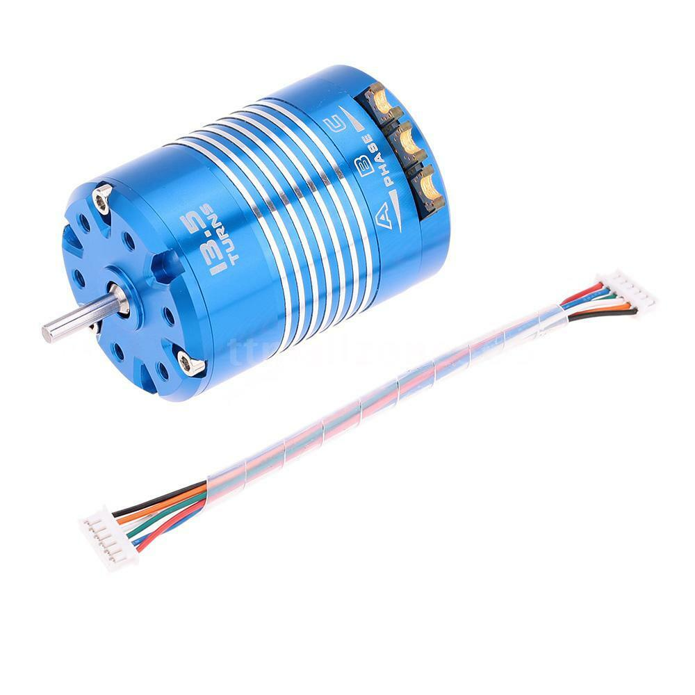 540 13 5t sensored brushless motor for 1 10 rc car auto for Brushless motors for sale