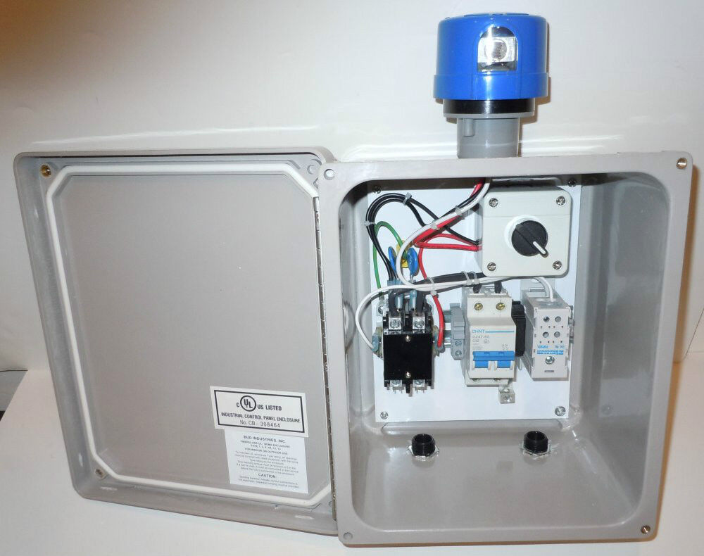 Lighting Control Panel - 2-pole 30a Contactor Box