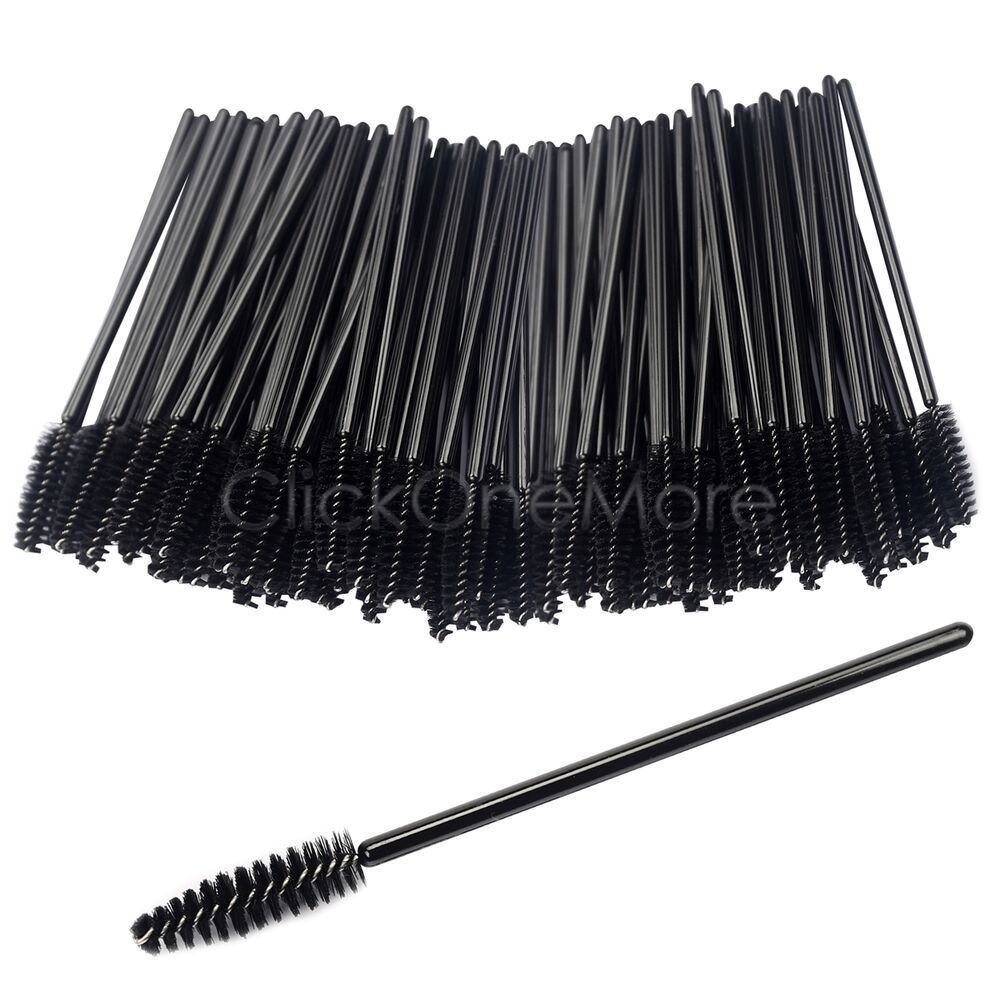 Sai disposable eyelash brush mascara wand makeup lash for Mascara with comb wand