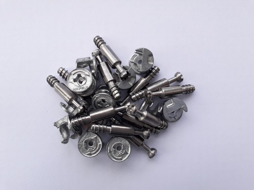 34mm Locking Cam Bolts Fixings Screws For Furniture