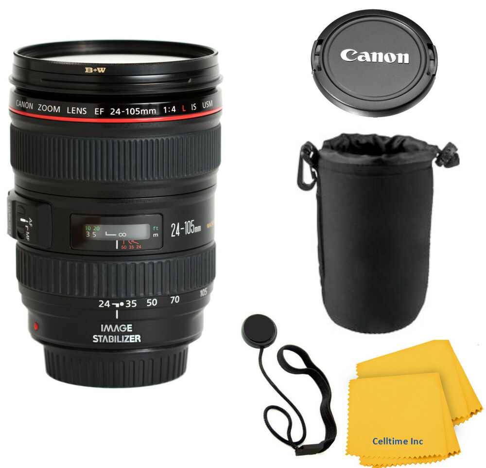 canon ef 24 105mm f 4 l is usm lens for canon eos slr cameras with pouch 13803050844 ebay. Black Bedroom Furniture Sets. Home Design Ideas