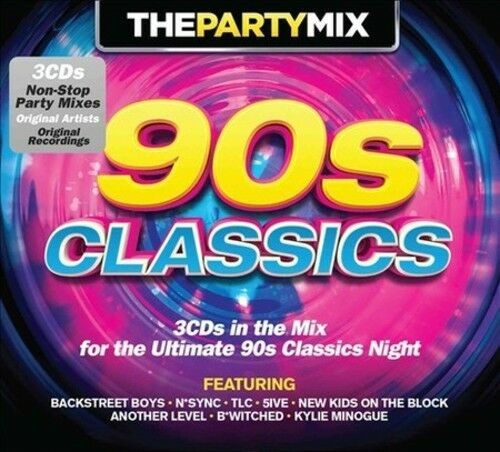 The party mix 90s classics new cd 654378615122 ebay for Classic house songs 90s