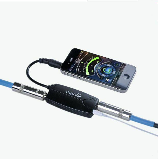 iphone guitar interface new cherub gb2i phone connector guitar or bass to iphone 11905