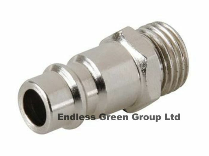 Euro airline fitting air compressor male