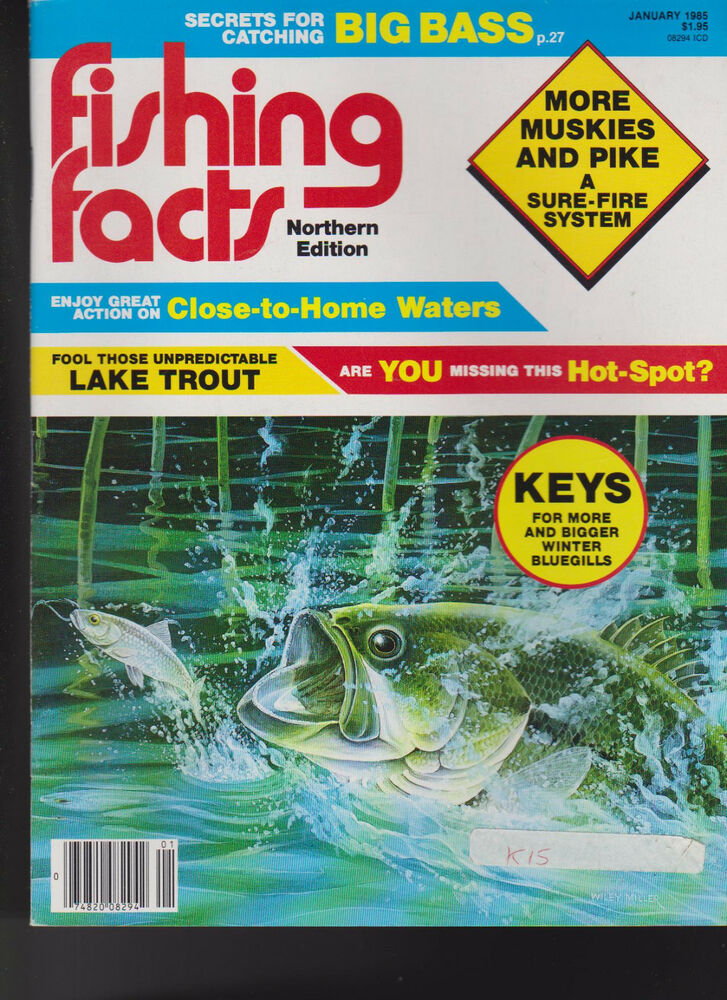 Fishing facts magazine big bass lake trout muskies pike for Bass fishing magazine