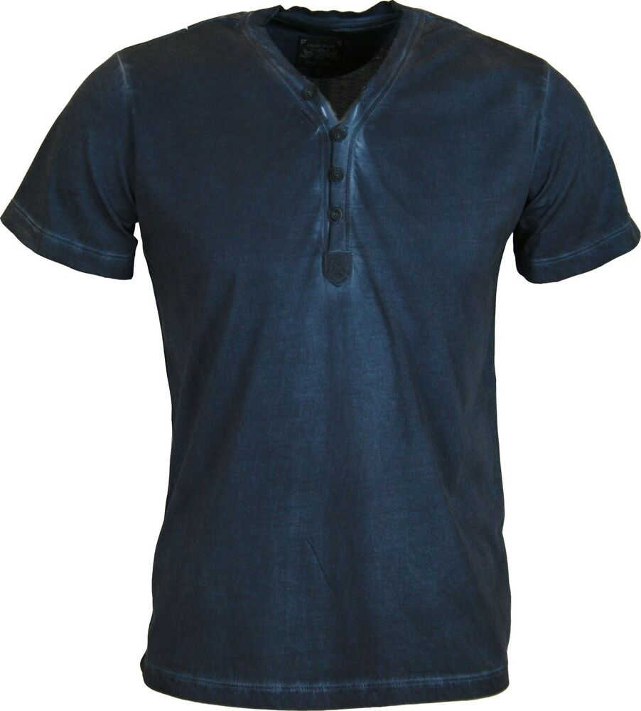 New mens diesel t shirt malaya 4 button crew neck vintage for Mens crew neck tee shirts