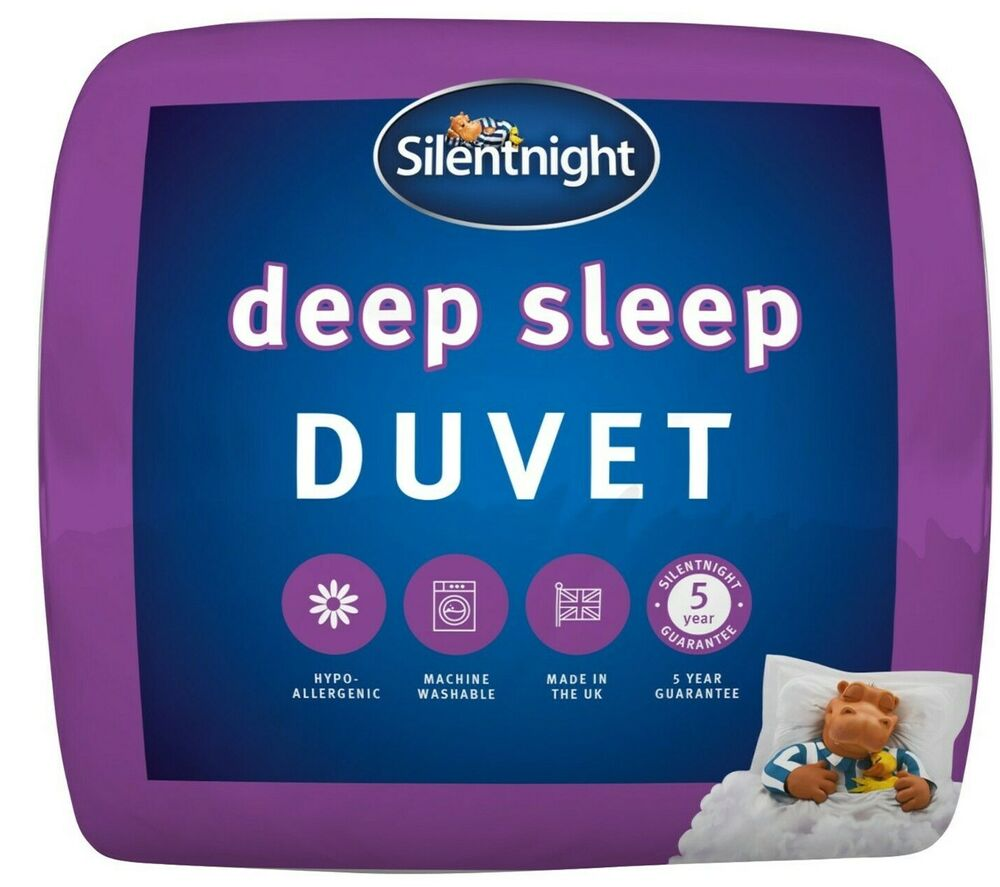 Silentnight Deep Sleep Duvet 7 5 Tog Ebay