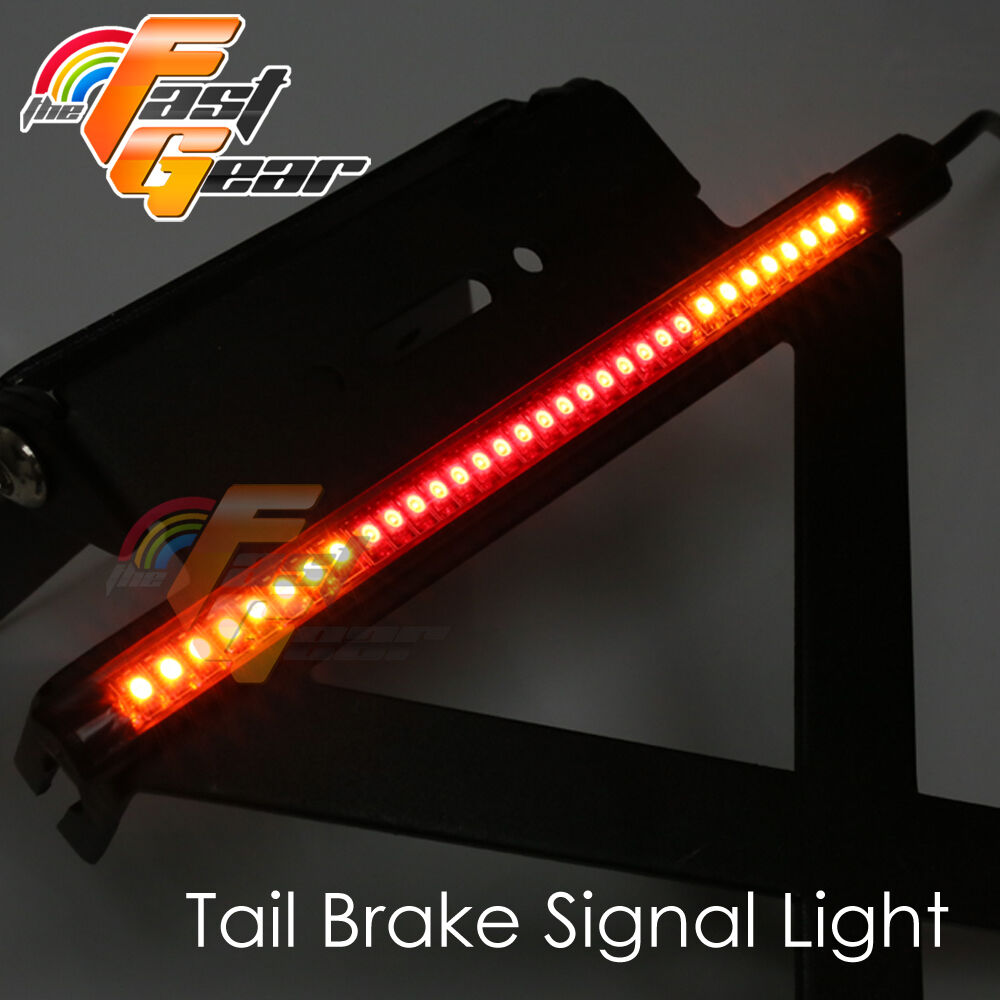 for motorcycle 1pc led bar integrate stop indicator light ebay