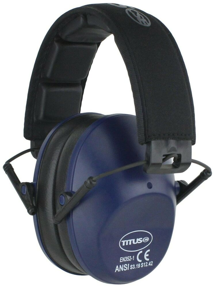 ear protection for shooting titus low profile ear muffs w 34 nrr shooting range 10438