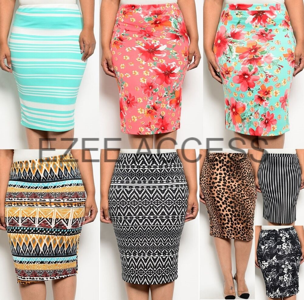 new plus size high waisted pencil bodycon