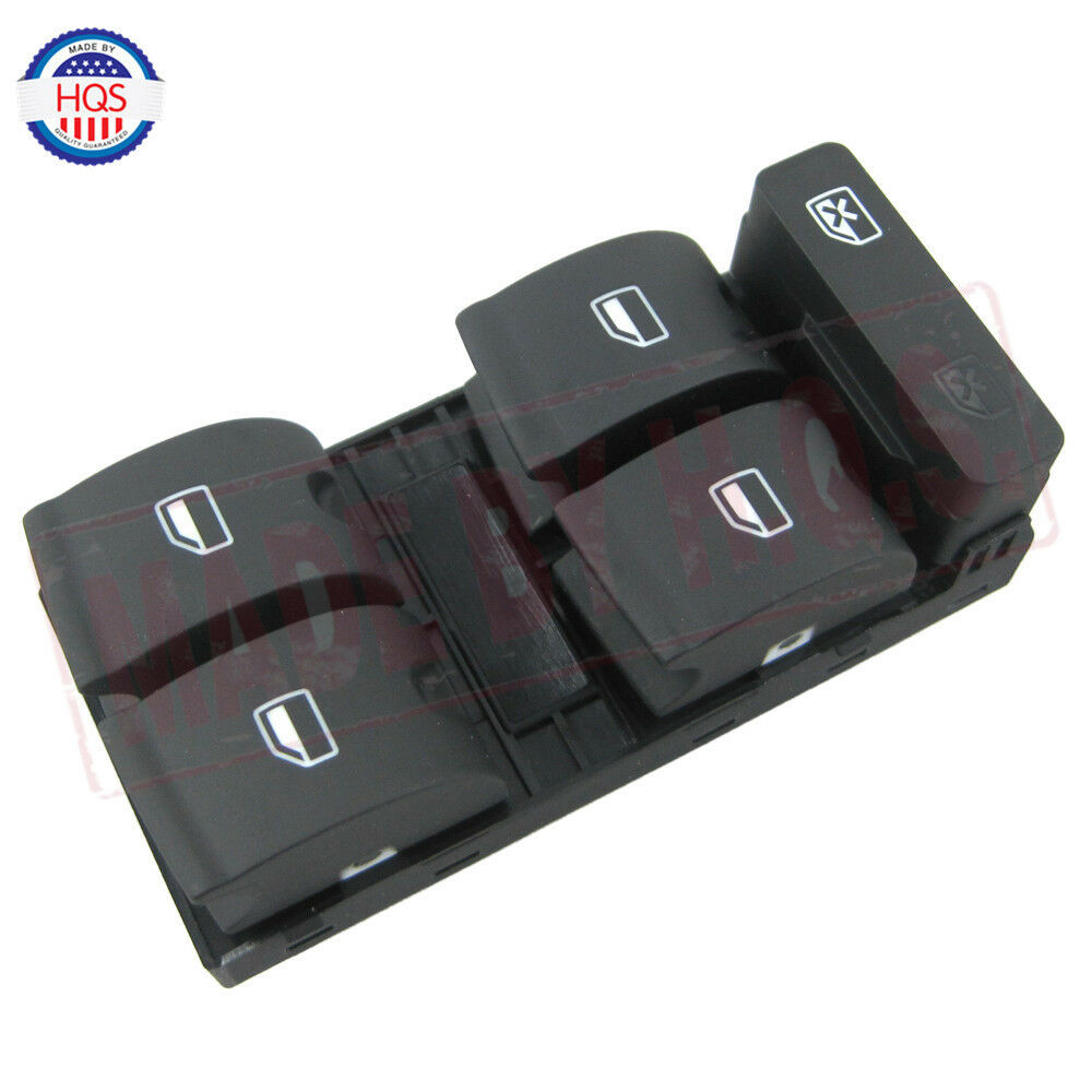 Driver Side Electric Master Window Control Switch For Audi
