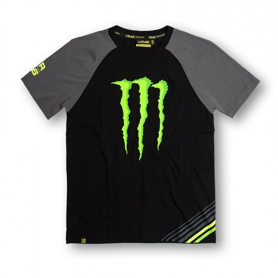 new official valentino rossi vr46 monster t shirt. Black Bedroom Furniture Sets. Home Design Ideas