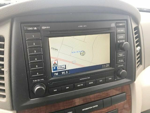 jeep grand cherokee commander rec cd gps navigation